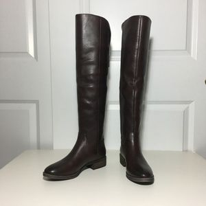 NWT Sole Society Over the Knee Leather Boots